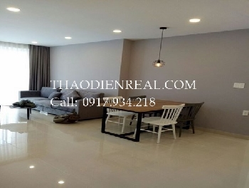 Modern 3 bedrooms apartment in Tropic Garden for rent.
