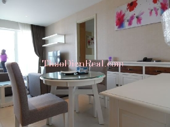 Modern furnitures 1 bedroom apartment in Diamond Island for rent.