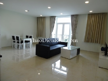 New serviced apartment with 1 or 2 bedrooms in District 2 for rent.