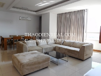Nice 3 bedrooms apartment in Xi Riverview Palace for rent