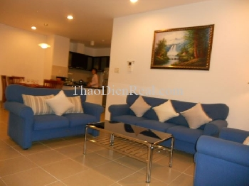 Nice furniture 2 bedrooms apartment in Horizon for rent.