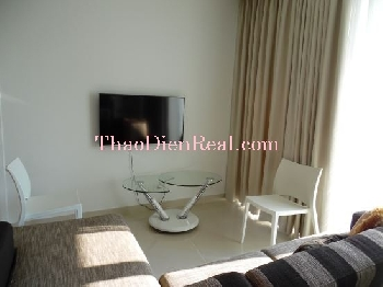 Nice furnitures 2 bedrooms apartment in Diamond Island for rent.