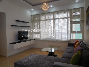 Nice layout 2 bedrooms in Saigon Pearl for rent.