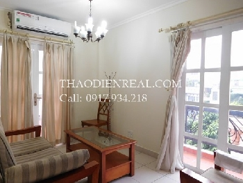 Nice service apartment 1 bedrooms in Tran Huu Trang for rent. Including all, except electricity, VAt and laundry.