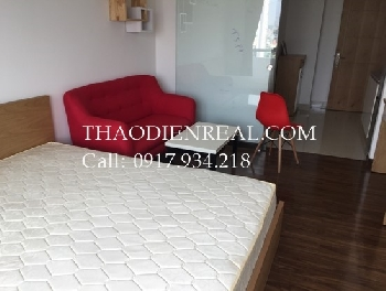 Nice view 1 bedroom service apartment in District 1 for rent