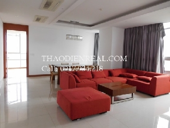 Nice view 3 bedrooms apartment in Xi Riverview Palace for rent