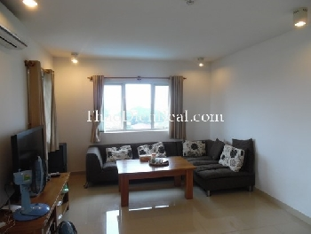 River view 3 bedrooms apartment in River Garden Thao Dien for rent.<<<= click here