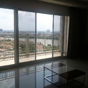 Saigon river view 3 bedrooms apartment in Xii Riverview for rent.
