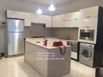 2-bedroom Sailing Tower Apartment for rent, 101sqm, high floor! 101sqm, long balcony, all bedrooms have window