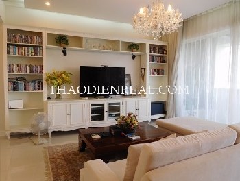 Luxury interior 3 bedrooms apartment in The Estella for rent
