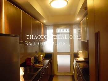 Simple decoration 2 bedrooms in Saigon Pearl for rent.