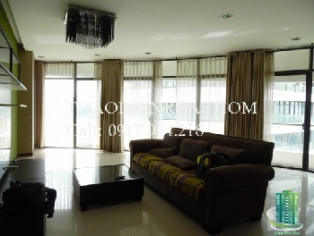 Simple modern 2 big bedroom in City Garden, fully furnished, city view