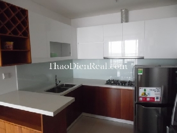 Simple style 2 bedrooms apartment in Thao Dien Pearl for rent