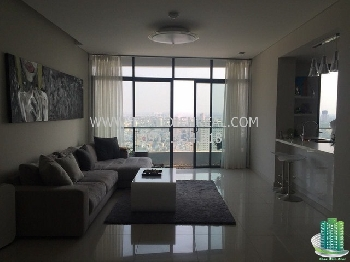 Simple 3 bedrooms apartment for rent in City Garden Apartment