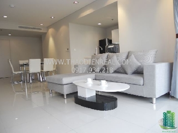 Simple 2 bedrooms apartment for rent in City Garden Apartment