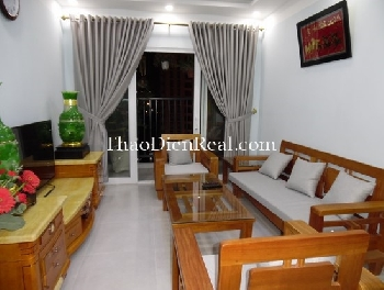 Two bedrooms apartment in Bo Cong An for rent.