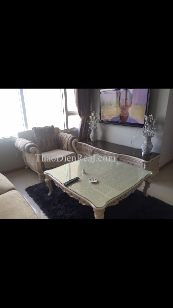Two bedrooms apartment in Saigon Pearl Topaz 2 for rent