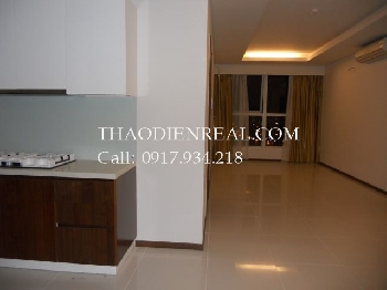 Unfurnished 2 bedrooms apartment in Thao Dien Pearl for rent