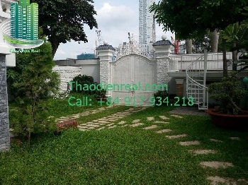Villa in Thao Dien ward, district 2 for rent - VL-08502