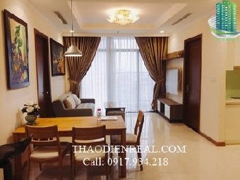 Vinhomes Central Park Apartment for rent, high floor fully furnished, nice apartment, 3Bed- VNH-08438