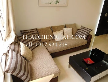 Vinhomes view 2 bedrooms apartment in Saigon Pearl for rent.