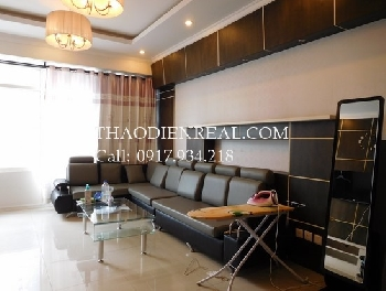 Vinhomes view 3 bedrooms apartment in Saigon Pearl for rent