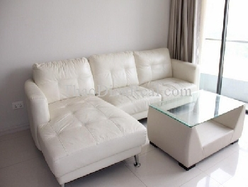 White tone 1 bedrooms apartment in City Garden for rent.