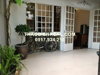 Wonderful house for rent in Thao Dien