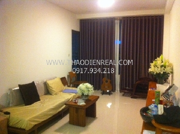 Wooden style  1 bedroom apartment in Icon 56 for rent