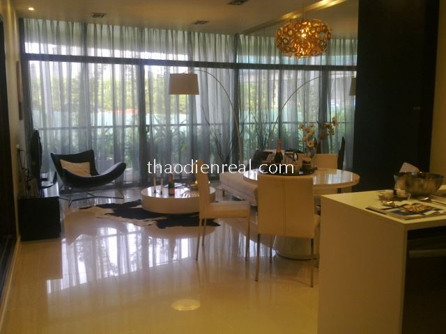 city garden, 2 bedroom apartment , modern furniture , nice view