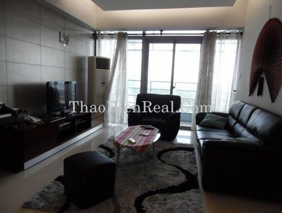 0917934218 - Căn hộ cho thuê 2 phòng ngủ với nội thất tuyệt tại Sailing Tower